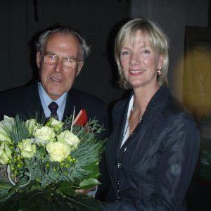 Stegger gratuliert Uwe Leonardy