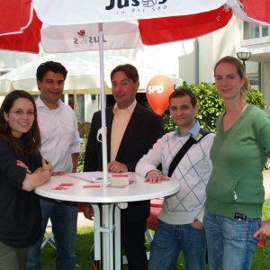 Jusos mit Sebastian Hartmann