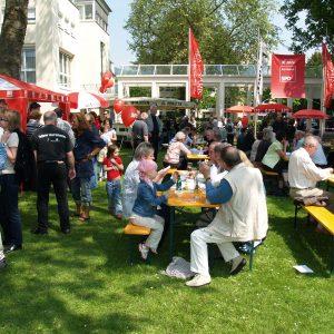 Volksfeststimmung im Kurpark